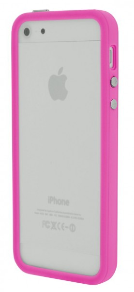 4-OK Bumper für Apple iPhone 5 in Pink