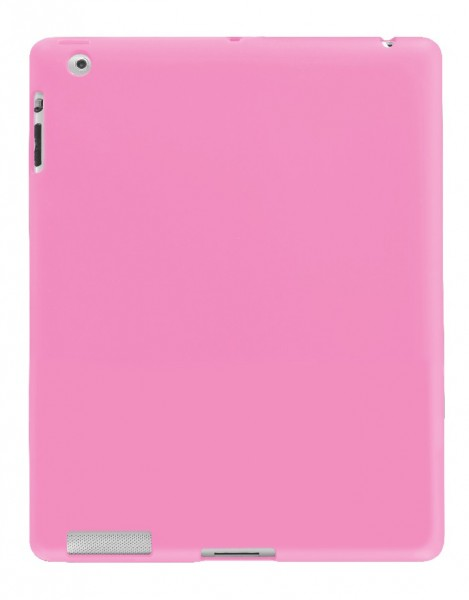 4-OK Cover Protek Solid für Apple iPad 3 in Pink