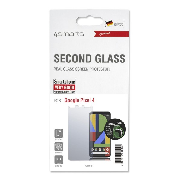 4smarts Second Glass Limited Cover für Google Pixel 4