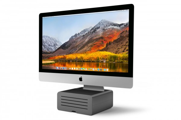 Twelve South HiRise Pro Standfuss für Apple iMac und Display - GunMetal