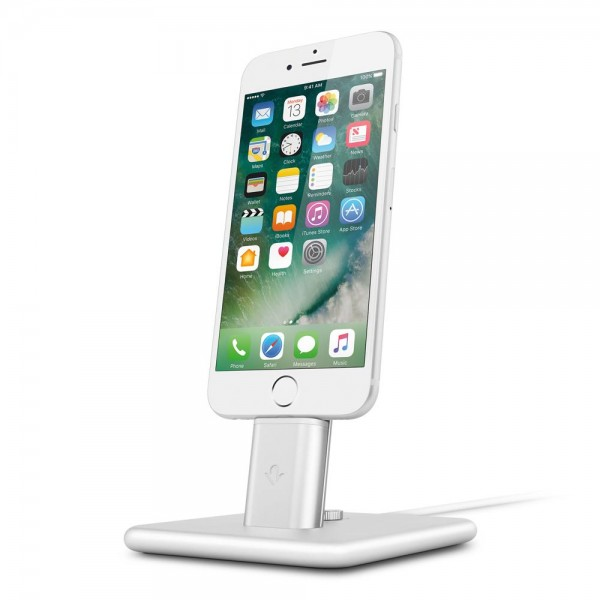 Twelve South HiRise 2 Desktop Stand for Apple iPhone & iPad mini - Silber