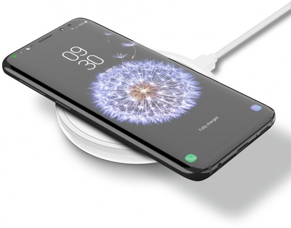 Belkin BOOST UP Wireless fast Charging QI Pad, universal - Weiss