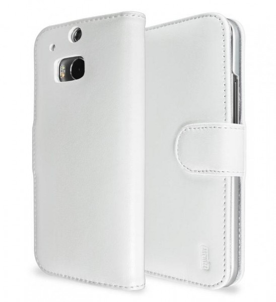 Artwizz SeeJacket Leather für HTC One M8 in Weiss