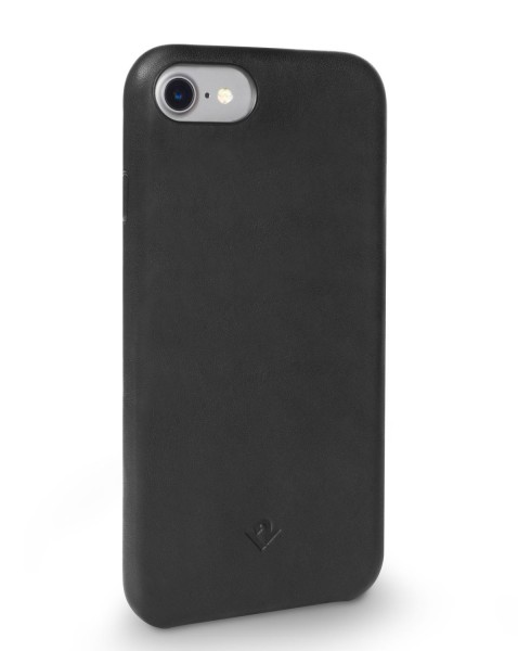 Twelve South Relaxed Leather Clip für Apple iPhone 8/7/6/6s - Schwarz