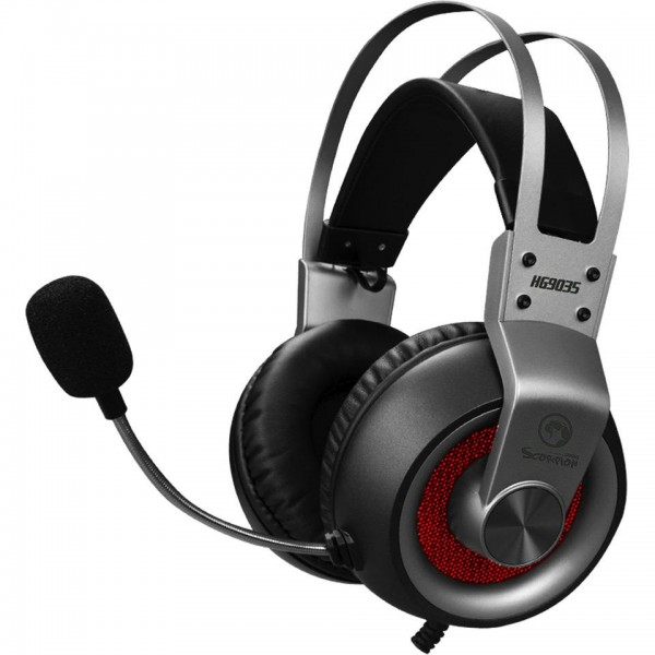 Marvo HG9035GY 7.1 USB Wired Gaming Headset - Grau