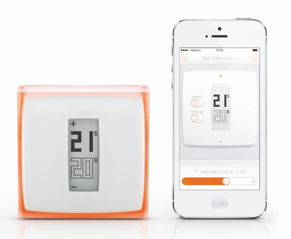 netatmo thermostat temperatur energie heizung per app steuerbar ios iphone ipad ebay. Black Bedroom Furniture Sets. Home Design Ideas